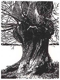 Blaze Cyan, Greenwich II, woodcut on silk paper, 45 cm x 30 cm Tree Roots, Wood Engraving, Texture Art, Woodblock Print, Tree Art, Printmaking, Contemporary Art, Lion Sculpture, Art Gallery