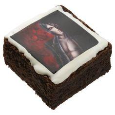 #Falln Devil's Night Chocolate Brownie - #halloween #brownies #sweets #goodies