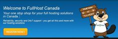 Welcome to FullHost Canada  Your one stop shop for your full hosting solutions in Canada.    Reliability, security and 24x7 support - you get all this and more with our hosting solutions