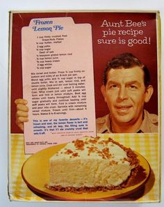 Aunt Bee's Frozen Lemon Pie | Hey, My Mom Used to Make That