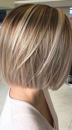 Short Blonde Bob Hairstyles
