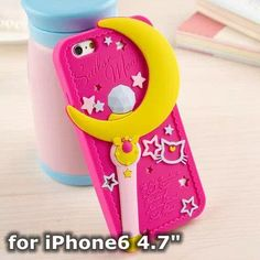 Sailor Moon Soft Silicon Phone Case for iPhone 5/5s/6/6s/6+