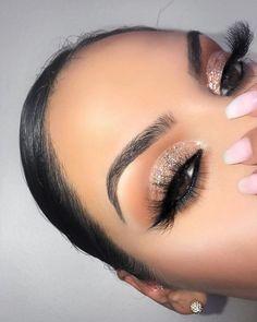 Stunning Shimmery Eyeshadow Look Ideas - - Stunning Shimmery Eyeshadow Look Ideas Beauty Makeup Hacks Ideas Wedding Makeup Looks for Women Make. Flawless Makeup, Glam Makeup, Gorgeous Makeup, Skin Makeup, Makeup Inspo, Eyeshadow Makeup, Eyeshadow Ideas, Awesome Makeup, Makeup Inspiration