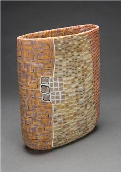 "Giles Bettison (1966-), Murrini Glass, ""VISTA NY #61"""