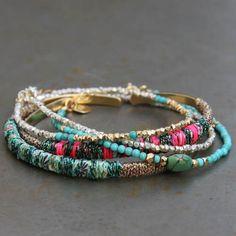 Bracelets Rio 5 couleurs