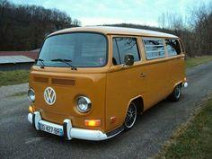 Volkswagen Kombi on the open road. Volkswagen Transporter, Vw Bus T2, Volkswagon Van, Volkswagen Bus, Vw T1, Vw Camper, Combi Vw T2, Vw Samba Bus, Kombi Pick Up