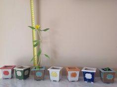 Bonsai, Pflanztopf, Blumen-Topf, blau-weiß, Gimmik von Pottery Cottage - Tonkunstobjekte voller Emotionen auf DaWanda.com