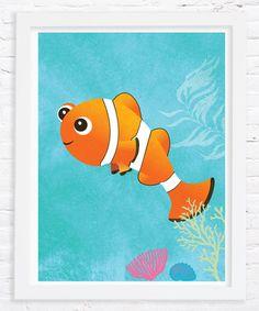 Loving this Orange Clown Fish Print on #zulily! #zulilyfinds