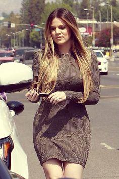 Khloe, that dress!!