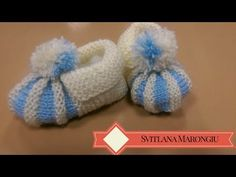 Scarpette uncinetto con PomPom - 1 Parte DIY baby chrochet pink Shoes - Full HD 1080p - YouTube