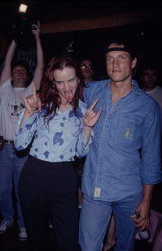 Juliette Lewis and Woody Harrelson