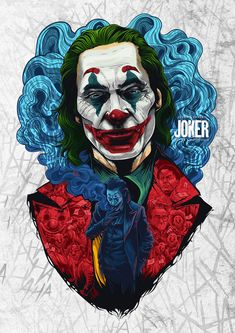 "Joaquin Phoenix won the best actor in a feature film for his excellent performance in the movie ""The Joker"". Joker Batman, Joker Y Harley Quinn, Gotham Batman, Joker Cartoon, The Joker, Batman Art, Batman Robin, Joker Poster, Joker Iphone Wallpaper"