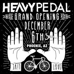 heavy pedal hands Bike Cog, Bike Tattoos, Yoga Logo, Grand Opening, Hands, Movie Posters, Opening Day, Film Poster, Billboard
