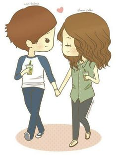 Cute cartoon drawing of louis and eleanor =) =)=) Cute Couples Cuddling, Cute Couples Texts, Cute Couples Goals, Cutest Couples, Cute Cartoon Drawings, Cute Cartoon Characters, Love Drawings, Hand Drawings, Cute Couple Pictures Cartoon