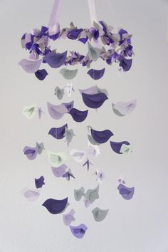 purple and grey nursery - Google Search