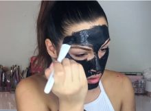 COMO HACER LA FAMOSA  MASCARILLA NEGRA Face, Activated Charcoal Mask, Hair And Beauty, How To Make, Faces, Celebs, Facial