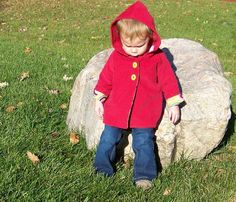 Unisex Jacket Coat Sewing Pattern and Tutorial sizes by OwlyBaby