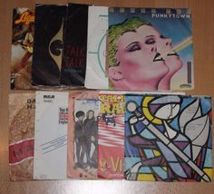9x 7  Vinyl Collection L-WIRA DURAN DURAN GOLD LIQUID GOLD TALK TALK