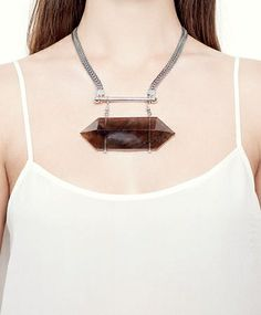 Silver Trance Necklace by ManiaMania