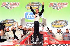 Parker Kligerman Celebrates First Win at Talladega