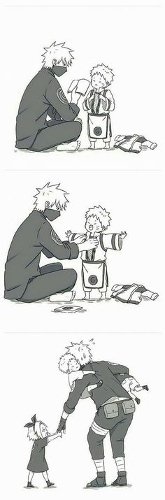 kakashi and naruto 이미지