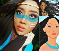 You have to see these Disney makeup transformations