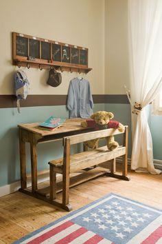 🌟Tante S!fr@ loves this📌🌟Chambre enfant Plus Childrens Bedroom Decor, Deco Kids, Primitive Bedroom, Kids Room Design, Kid Spaces, Apartment Living, Country Decor, Girls Bedroom, Room Inspiration