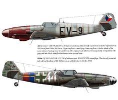 Messerschmitt Bf-109G-10.