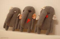 Elephants by Olga Pangolin on Behance