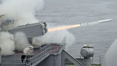 WonderfullNew Navy ship-defense missile destroys target with high tech 'active seeker' - Technology Park Military News, Military Weapons, Uss Ford, Cruise Missile, United States Navy, Navy Ships, Aircraft Carrier, War Machine, Battleship