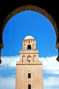 Mosque of Uqba, Kairouan, Tunisia