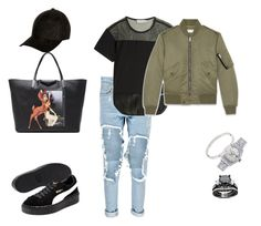 """""""creepers"""" by seni55 ❤ liked on Polyvore featuring Givenchy, Puma, Boohoo, adidas, Yves Saint Laurent, River Island, Rolex and Cartier"""