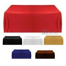 Tablecloth Table Cover for Banquet Wedding Party Home Decor