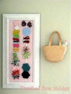 I think I need to make one of these for my Miss Afton - digging through the bin is getting harder all the time =D From brandyscrafts.blogspot.com