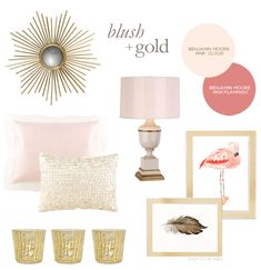 Get the look: Blush + Gold | Brunch at Saks