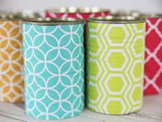 #HPCreate Recycled Can Organizer