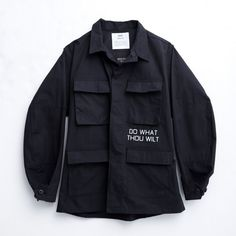 OAMC RG10 Military Jacket in Black #men #clothing #black #jacket #military #style