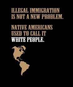 This pin shows that illegal immigration has been a large problem for a long time and will probably continue to be unless we learn from the past and make more attempts to accept other's cultures and possessions.