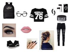"""""""book 2"""" by tearbear118 on Polyvore featuring Boohoo, Vans, Cristabelle, Eyeko and Lime Crime"""