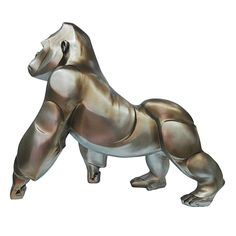 """Meet our new favorite pet! Majestic and beautiful Digit is sculpted in polyresin and finish in a faux-bronze. Dimensions: 23""""W 10""""D 20""""H Product weight: 15.5lbs. Color: Bronze. Assembly is not required. Made in China. We are offering 1 year limited warranty (covered for any manufacturer's defect) Materials: Polyresin, Stone Powder. We understand how important your home is and how decorating your kitchen, dining room or bedrooms with classy, contemporary furnish..."""