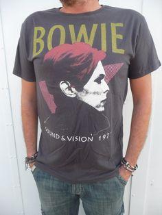 David Bowie sound 1977 Punk Rock T-Shirt