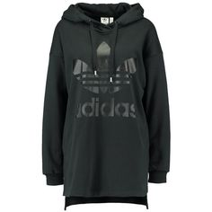 adidas Originals HOODIE Luvtröja ❤ liked on Polyvore featuring tops, hoodies, sweatshirt hoodies, hooded sweatshirt, adidas originals hoodies, hooded pullover and adidas originals top