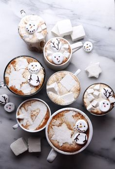 Enjoy an easy and delicious dairy-free hot chocolate in just a few minutes! Includes a link to homemade Honey-Vanilla Marshmallows. Holiday Treats, Christmas Treats, Holiday Recipes, Holiday Baking, Christmas Baking, Dairy Free Hot Chocolate, Cocoa Cinnamon, Christmas Goodies, Marshmallow