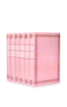 Pink Illustrated Jane Austen Set by JUNIPER BOOKS Now Available on Moda Operandi