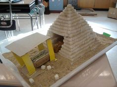 On this site, you can see how we build our (almost) all sugar cube pyramid. Please recommend our site to other students and leave a comment on our blog.