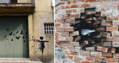 The Subtractive Canvases and Street Art of Pejac