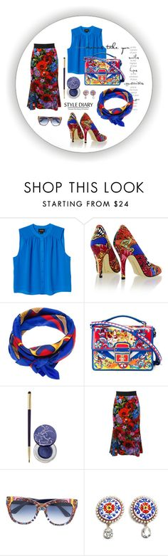 """Cool"" by valeria-paola-1 ❤ liked on Polyvore featuring Monki, Chinese Laundry, Ralph Lauren, Dolce&Gabbana and tarte"