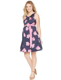 6990a1901e0e6 Motherhood Maternity Sleeveless Belted Maternity Dress Maternity Wear,  Maternity Fashion, Stylish Maternity, Maternity