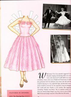 lucille ball dress ('the dancing star')