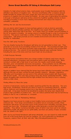 Health Benefits Of Himalayan Salt Lamp Fair Himalayan Crystal Salt Top 5 Benefits  Pinterest  Himalayan Salt Inspiration Design